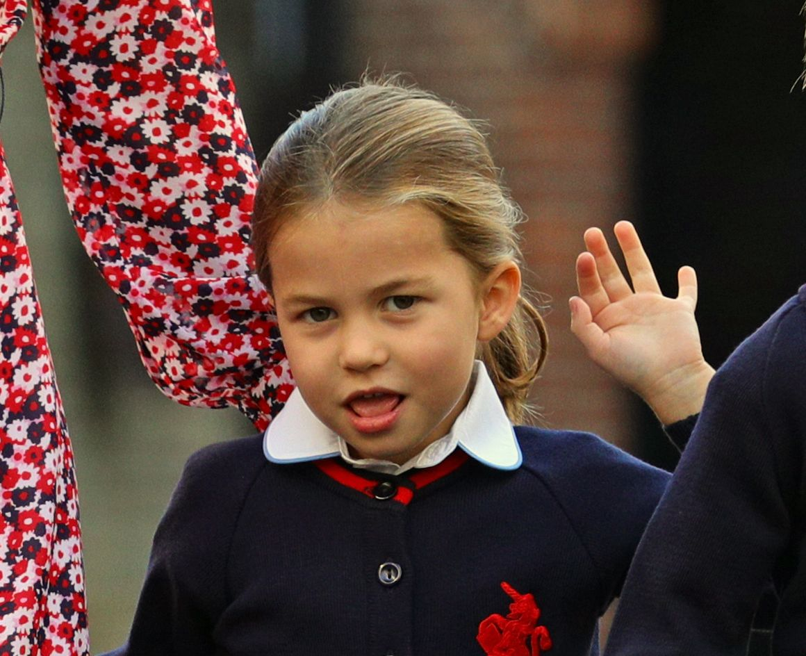 Princess Charlotte is the double of Diana's niece, Kitty Spencer