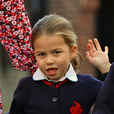 princess charlotte, identical, princess diana's niece, lady kitty spencer