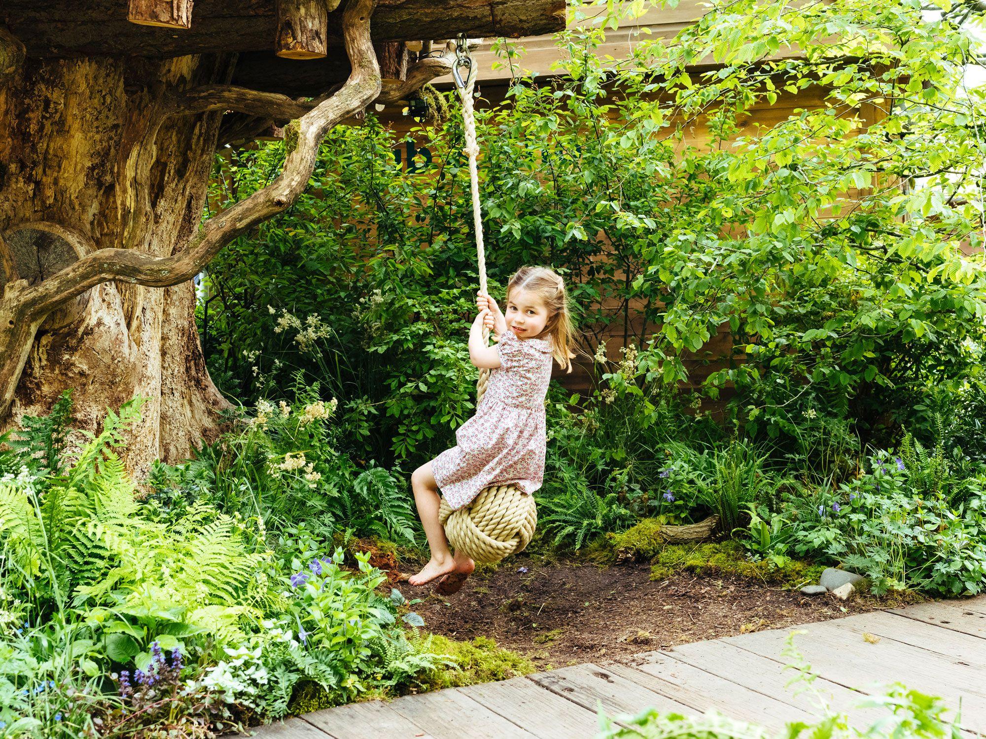princess charlotte chelsea flower show garden
