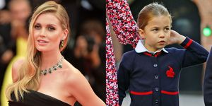 Lady Kitty Spencer and Princess Charlotte