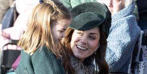 キャサリン妃 シャーロット王女 ロイヤルファミリー 写真