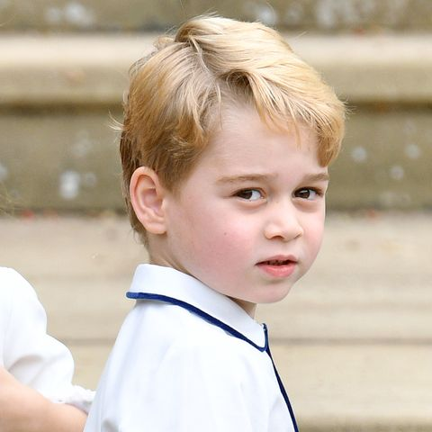prince george spotted in kate and william's latest video call