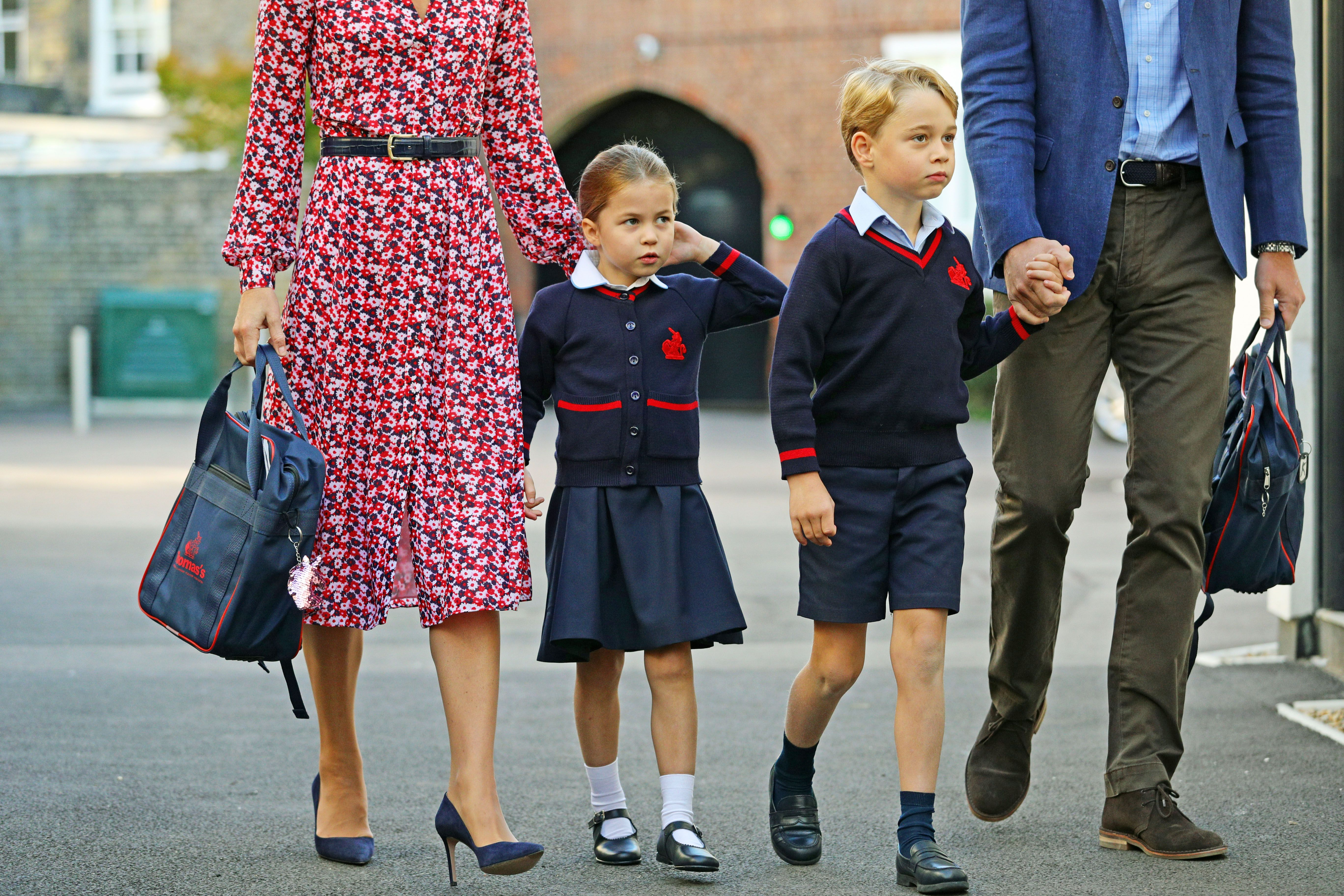 Prince George and Princess Charlotte's Back-to-School Pictures Are Here