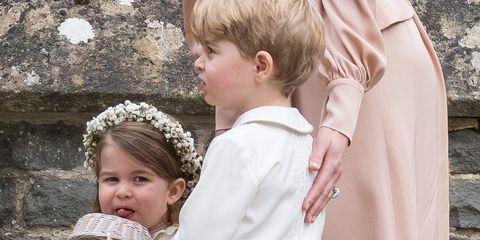 princess charlotte prince george pippa wedding