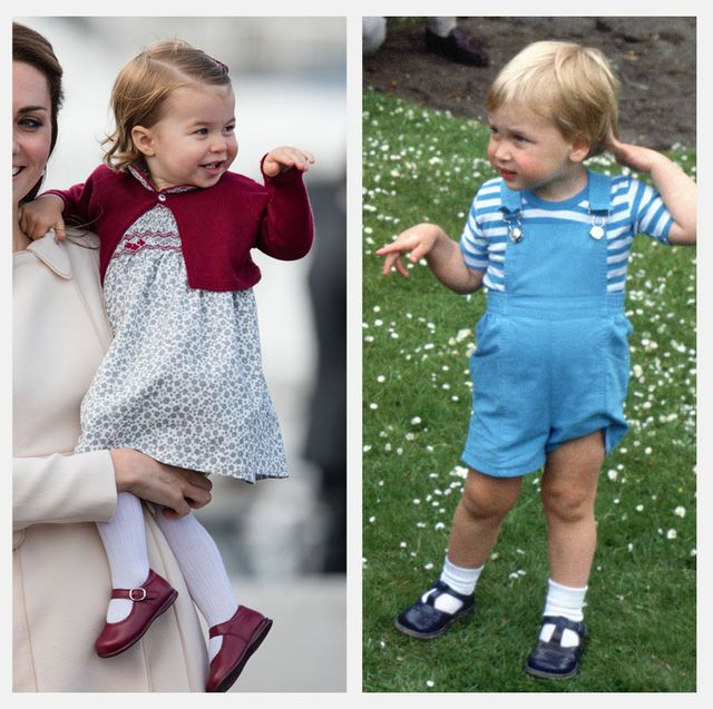 princess charlotte prince william twins photos comparison