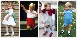 princess charlotte prince william twins photos comparison