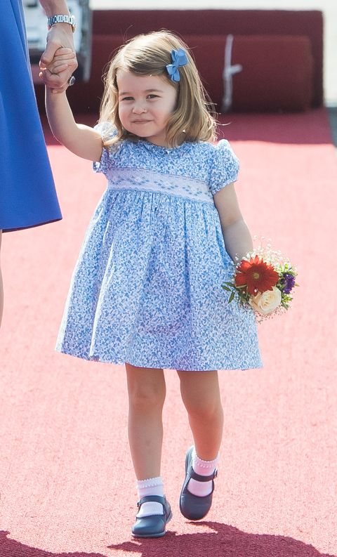 A Moment For Princess Charlotte S First Royal Curtsy
