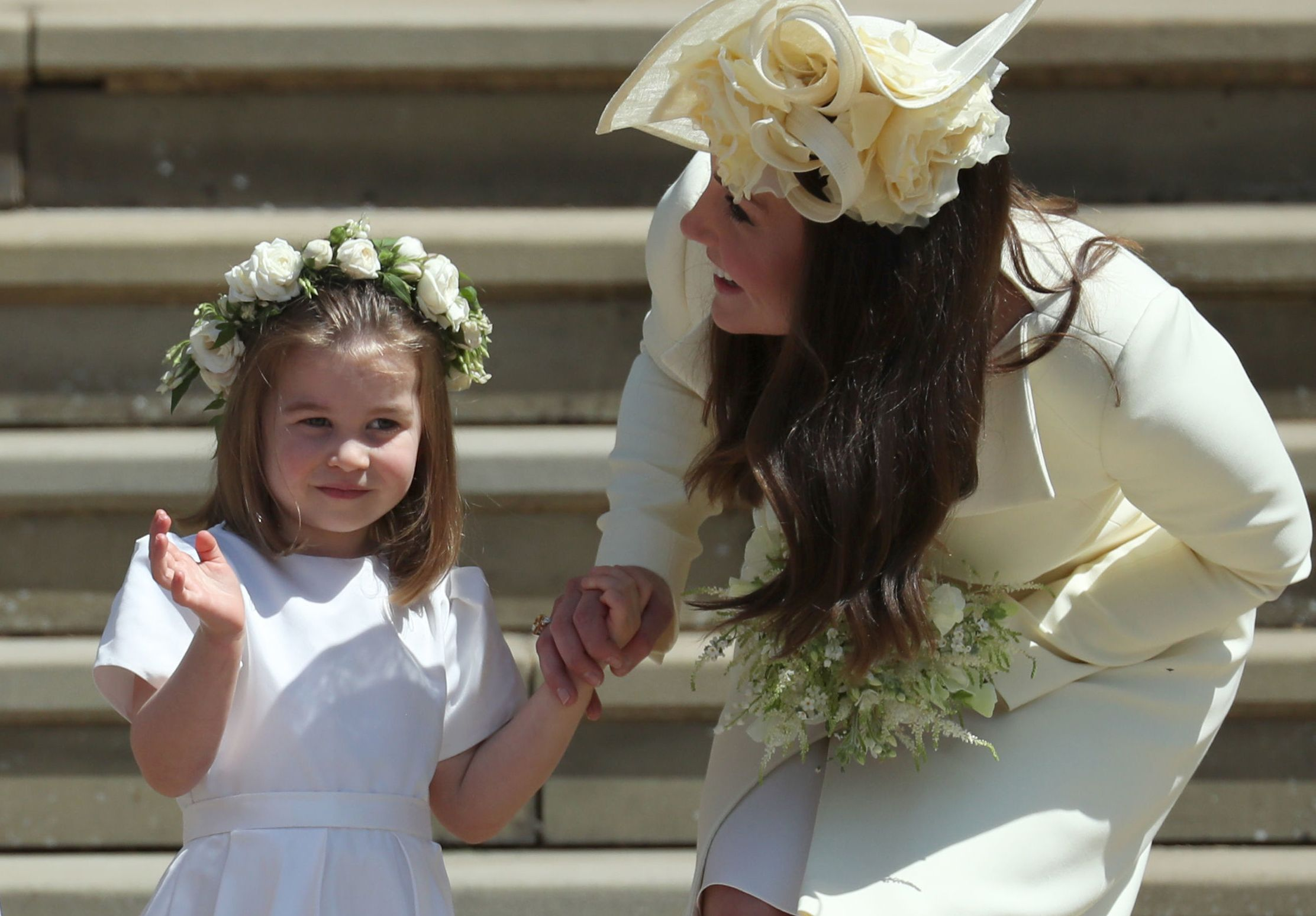 The Duchess of Cambridge shares a sweet new photo of Princess Charlotte