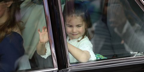She might only be three, but this Princess is a pro bridesmaid and sheknows how to work the crowds.