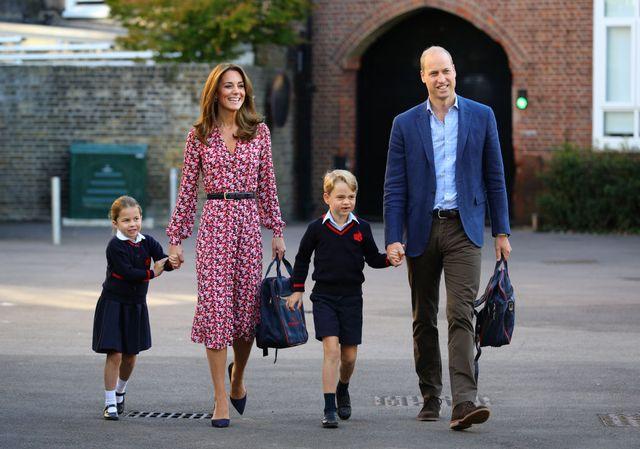 ウィリアム王子 キャサリン妃 ジョージ王子 シャーロット王女 学校 再開 新型コロナウイルス 自宅