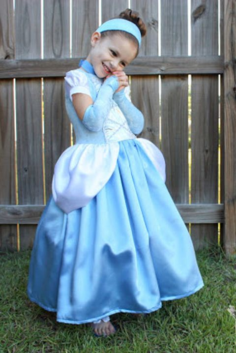 20 DIY Disney Princess Costumes - Homemade Princess Dresses for Kids