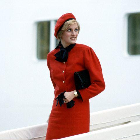 Diana Naming Royal Princess Ship