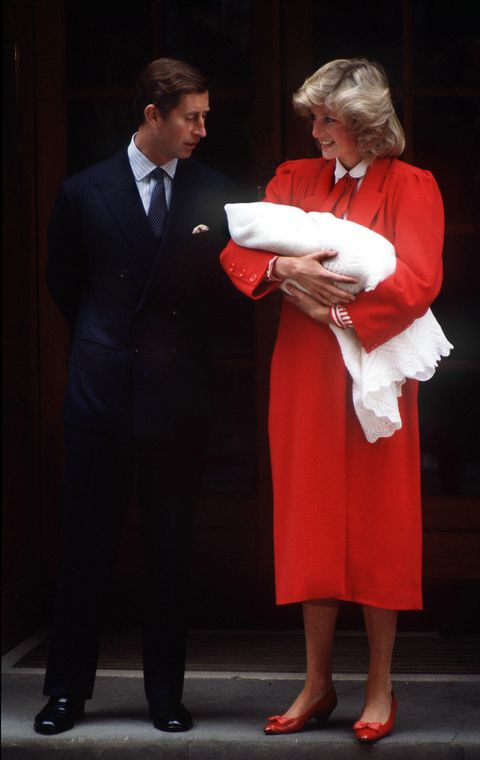royal couple and son