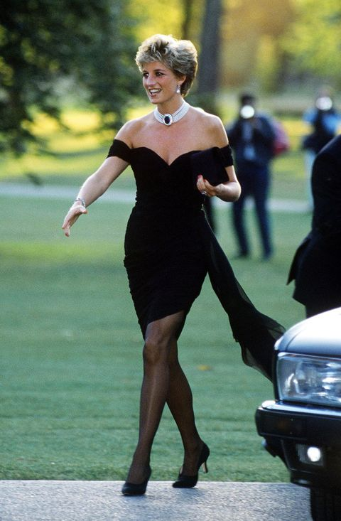 "princess diana's ""revenge dress"""