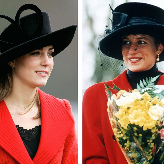 file photo kate middleton and diana princess of wales