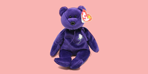 The Story Behind the Princess Diana Beanie Baby