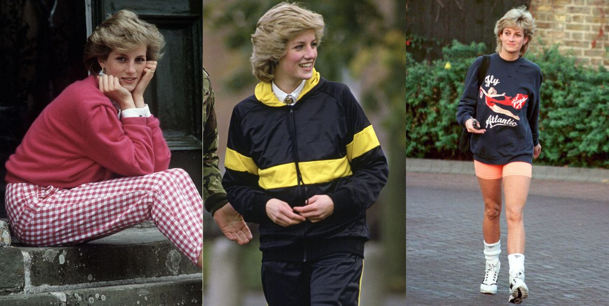 princess diana fashion casual