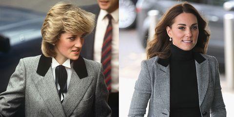 Princess Diana and Kate Middleton Blazers