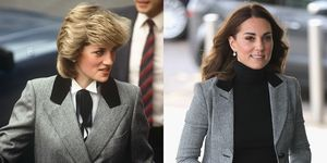 Princess Diana and Kate Middleton Blazers