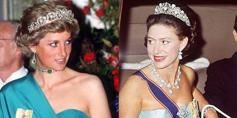 Princess Diana Princess Margaret Tiara