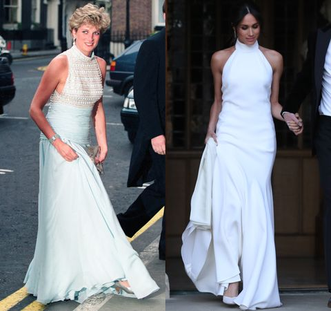 1ca51d0c2ae1c Meghan Markle Heads to Reception in Second Royal Wedding Dress by ...