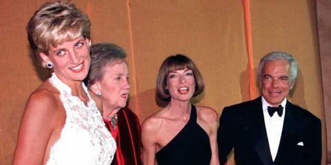 Princess Diana of Wales (L), Washington Post owner