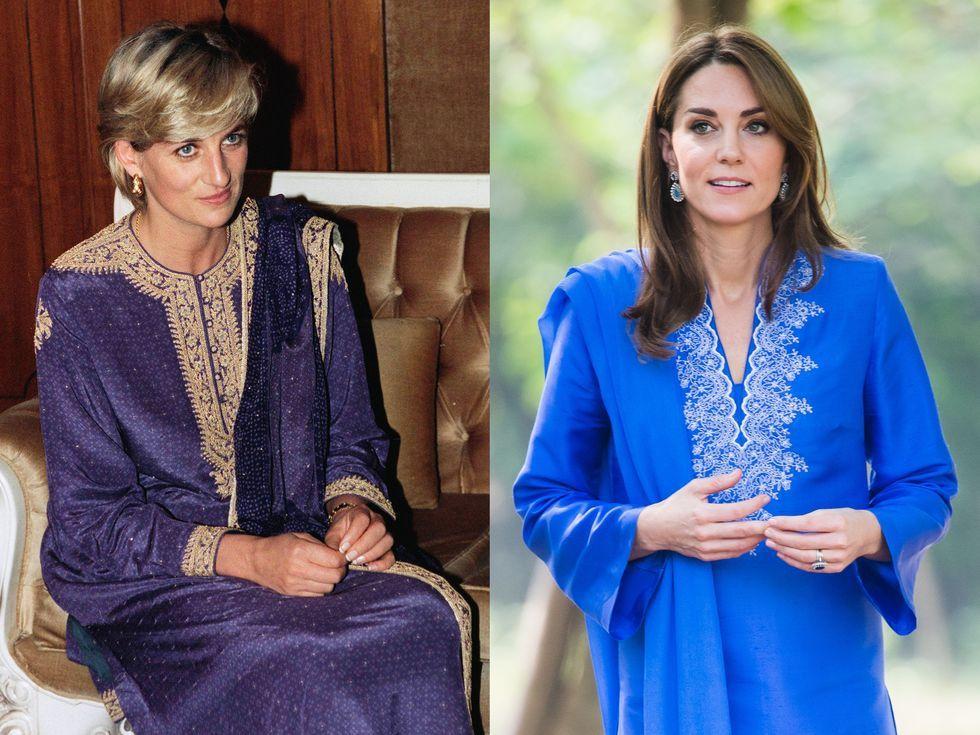 40 Times Kate Middleton And Princess Diana Dressed Alike Kate