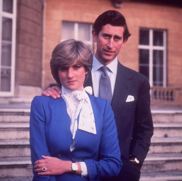 24th february 1981  charles, prince of wales, and diana, princess of wales, 1961   1997 at buckingham palace in london on the occasion of their engagement  photo by central pressgetty images