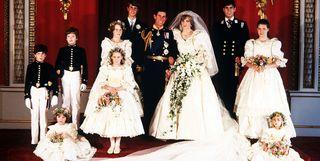 Meghan markles wedding dress photos details for meghans givenchy princess diana prince charles wedding junglespirit Images