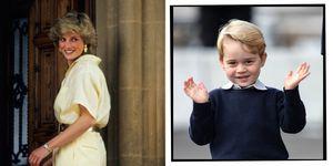 Princess Lady Diana prince George