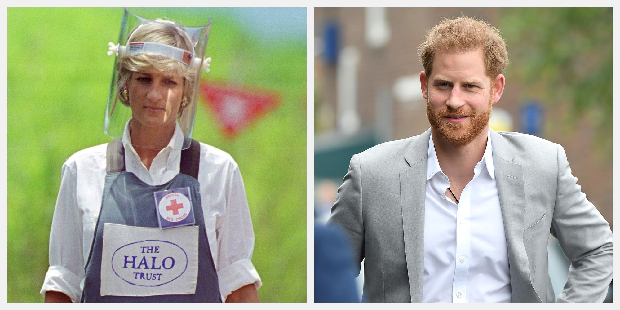 Why Prince Harry Can't Exactly Recreate Princess Diana's Iconic Photos in Angola