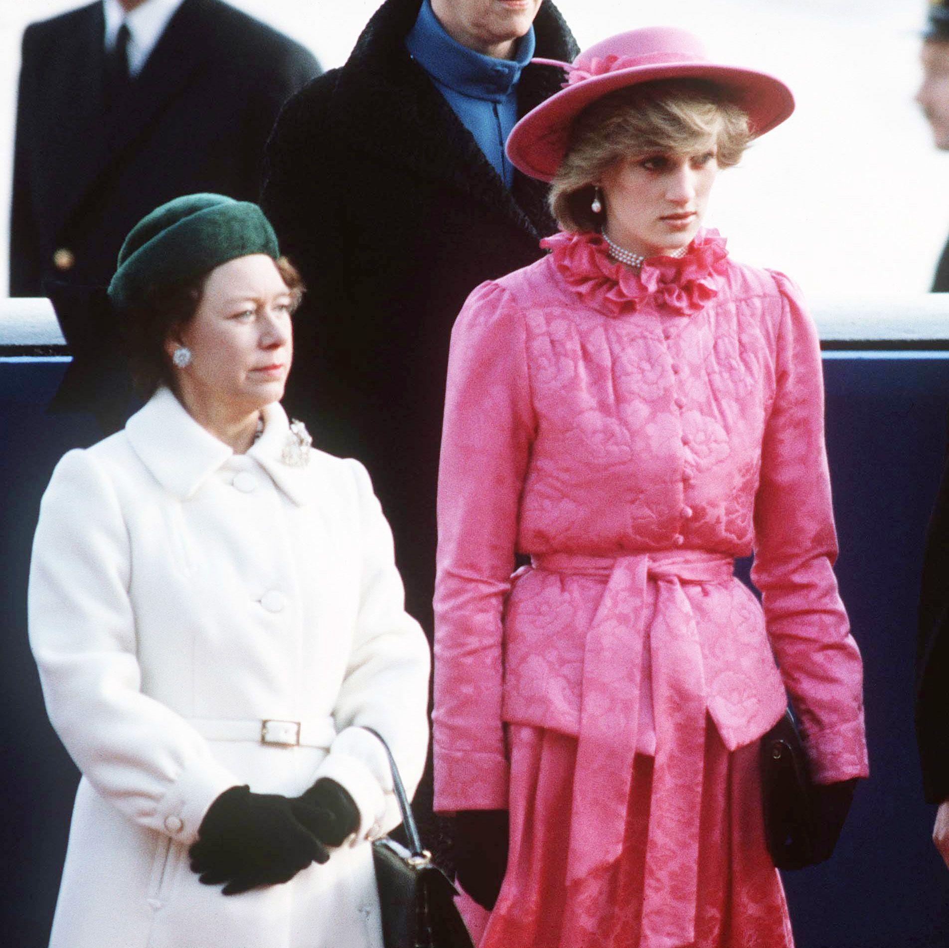 Inside Princess Margaret's Complicated Relationship with Princess Diana