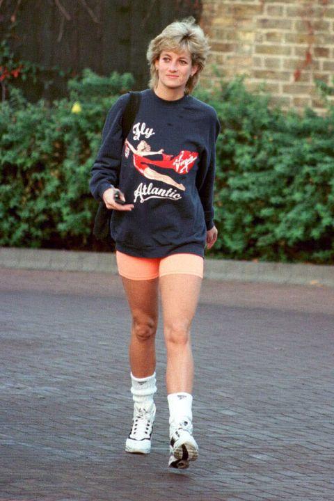 diana biker shorts outfit