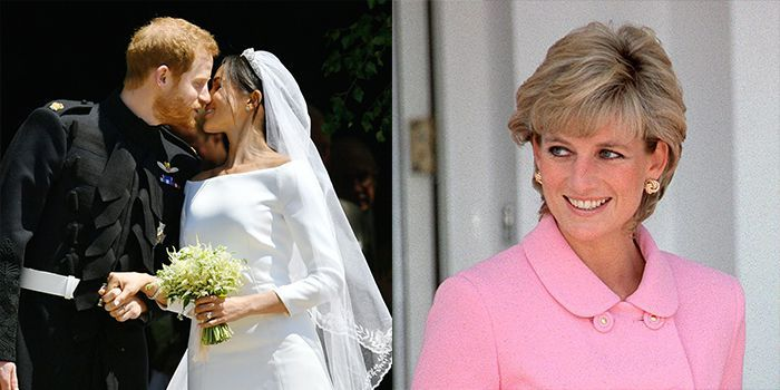 8 Times Prince Harry and Meghan Markle Honored Princess Diana at Their Wedding