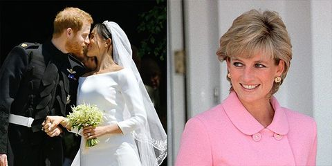 Royal Wedding Time.9 Times Prince Harry And Meghan Markle Honored Princess Diana At