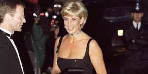 princess diana at tate gallery, 1997