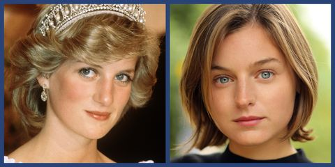 the crown season 4 cast Emma Corrin as princess diana