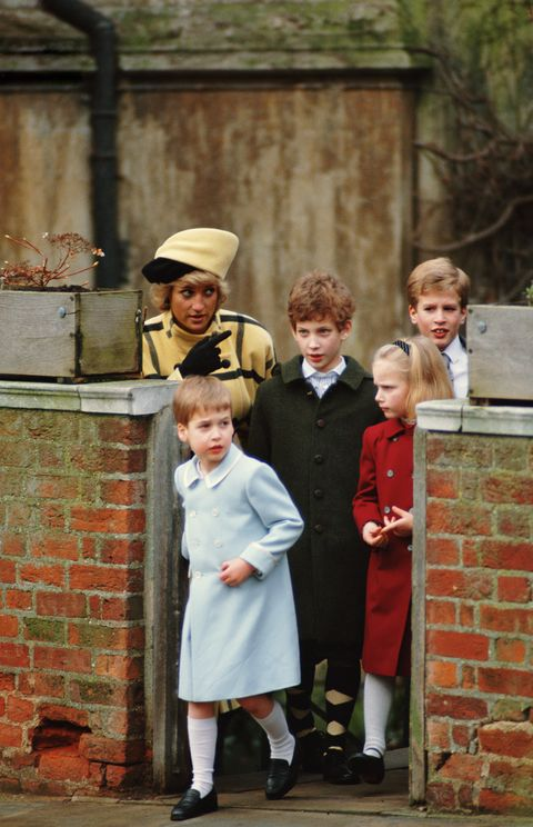 Diana And Children