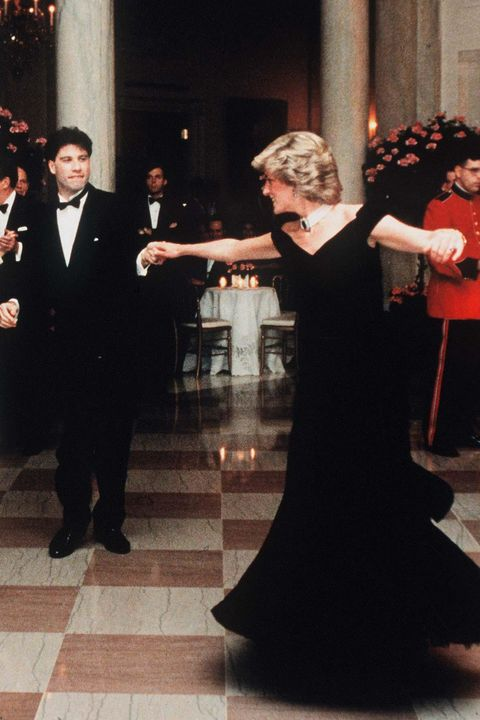 "princess diana's ""travolta"" dress"