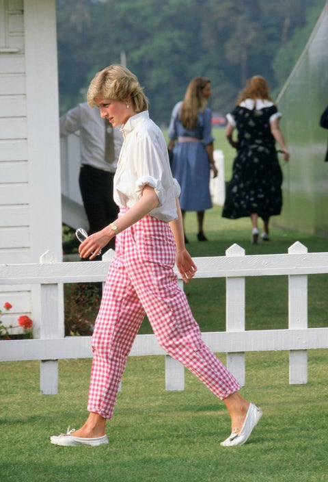 Diana At Guards Polo Windsor
