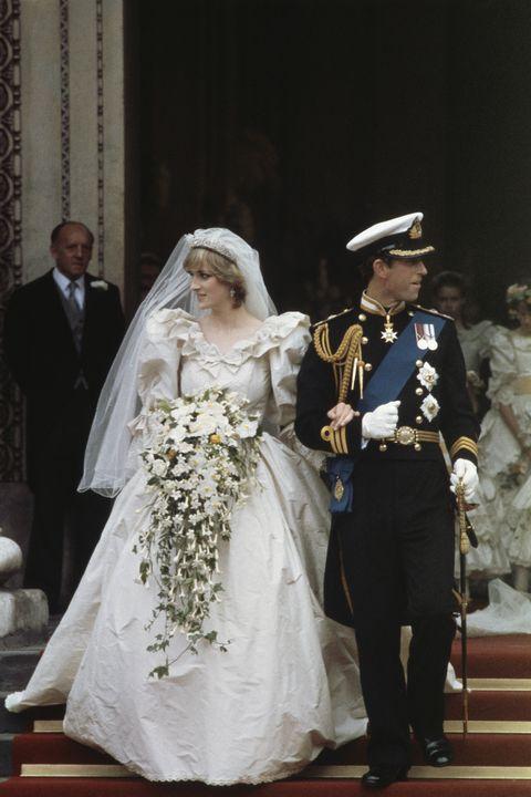 Princess Diana S Wedding Charles And Diana S Most Glamorous