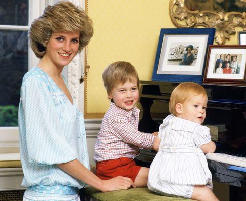 威廉王子幫黛安娜王妃化妝的稀有畫面!英國皇室中的母子溫馨場景讓人會心一笑