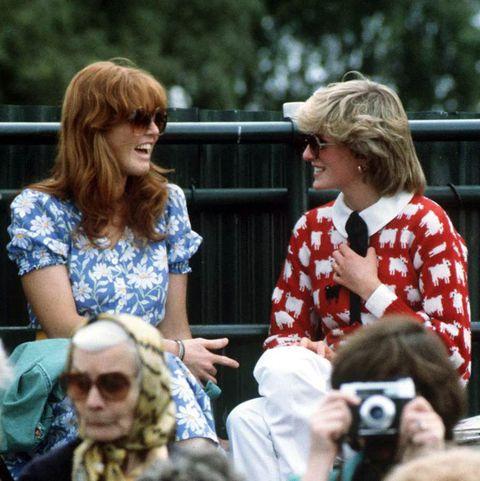 Sarah Ferguson And Diana