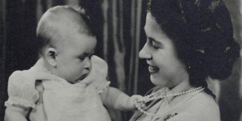 HRH Princess Elizabeth And Prince Charles