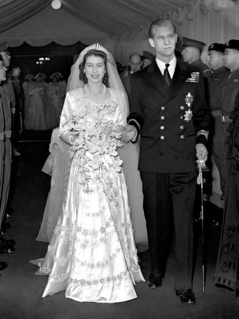 Princess Elizabeth And Prince Philip Mountbatten 1947