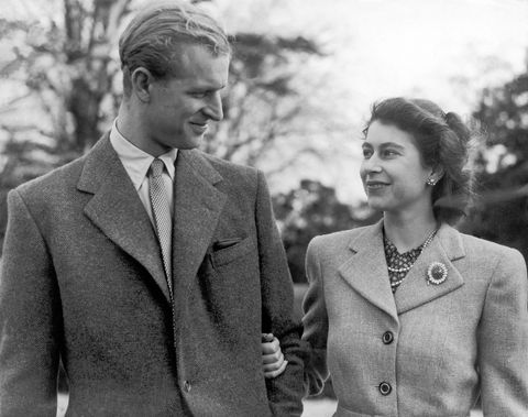 princess elizabeth and the duke of edinburgh in 1947