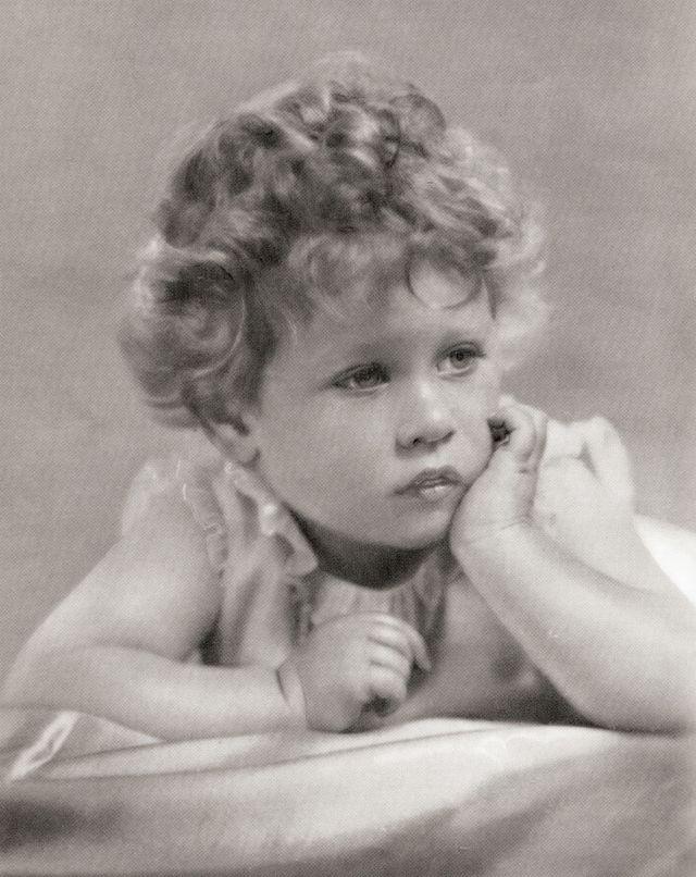 princess elizabeth, future queen elizabeth ii, in 1928