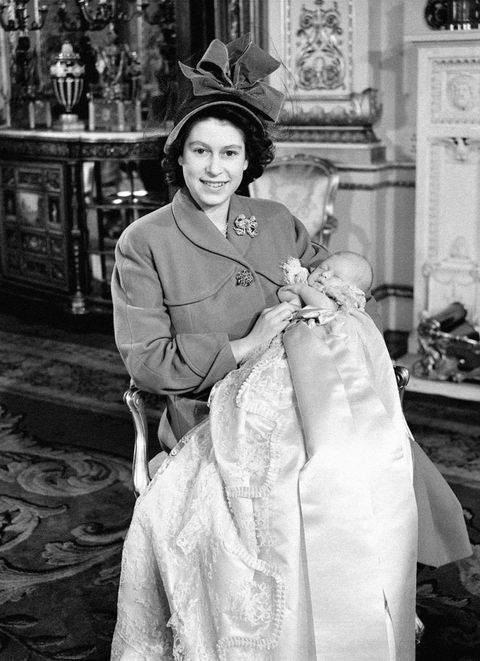 Royalty - Christening of Prince Charles - Buckingham Palace, London