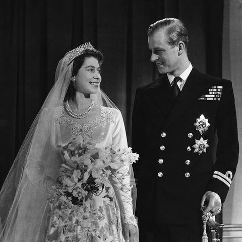bruiloft queen elizabeth en prins philip