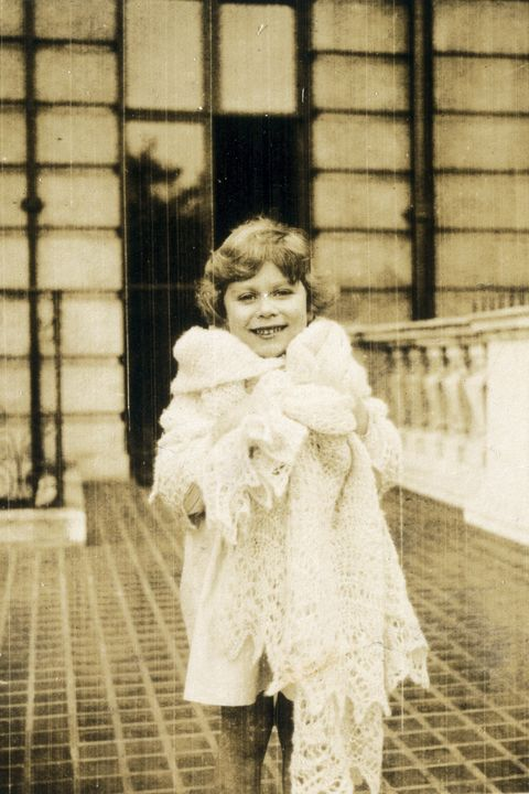 Princess Elizabeth as a child, 1930.